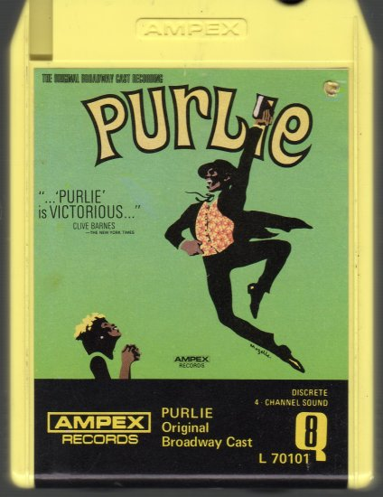 Purlie - Original Broadway Cast Quadraphonic 8-track tape