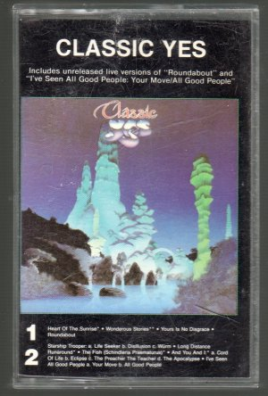 Yes - Classic Yes Cassette Tape