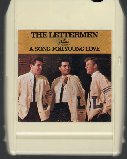 The Lettermen - A Song For Young Love 1966 Capitol 8-track tape