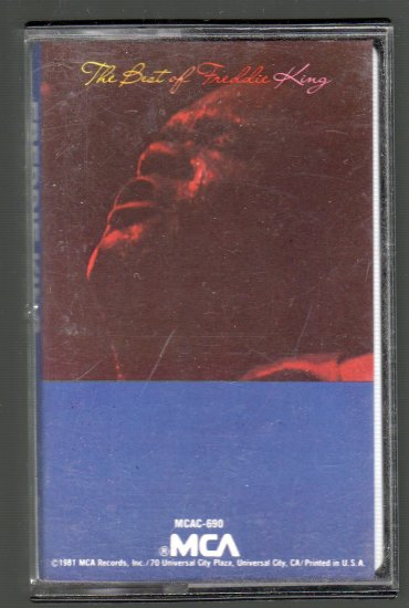 Freddie King - The Best Of Freddie King Cassette Tape