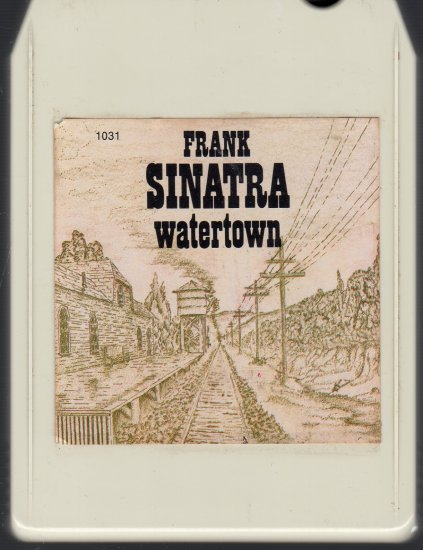 Frank Sinatra - Watertown ( Reprise ) A39 8-track tape
