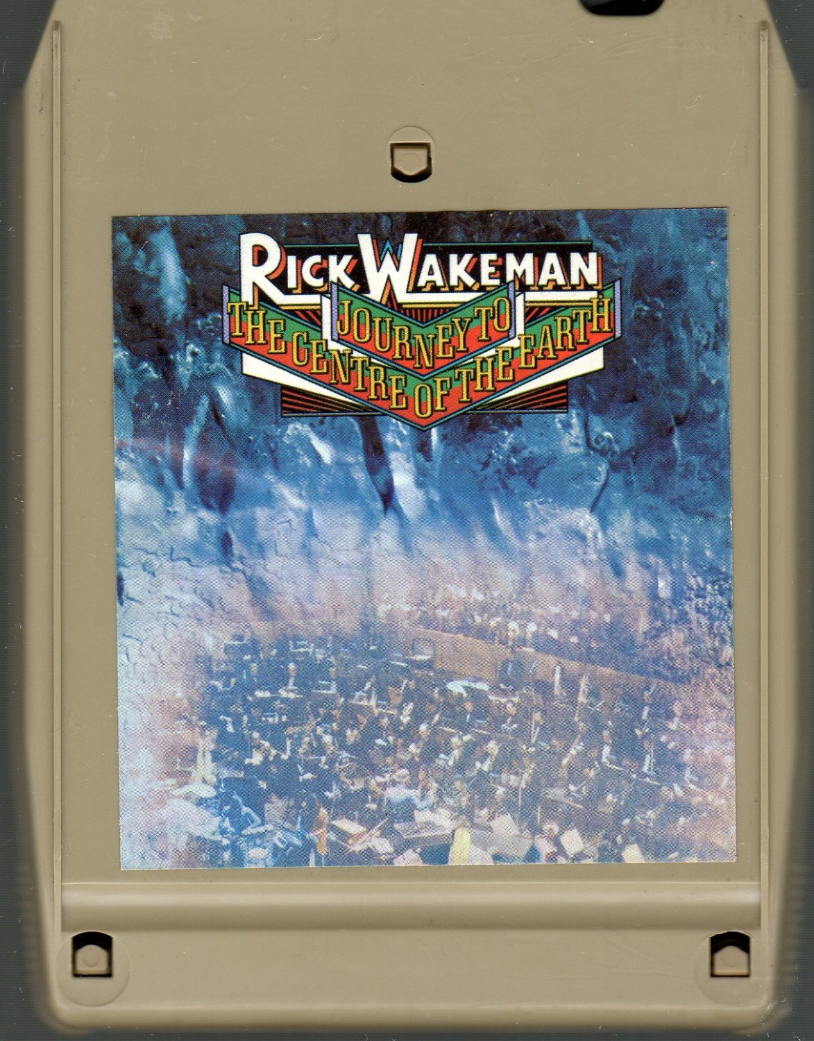Rick Wakeman - Journey To The Centre Of The Earth 8-track tape
