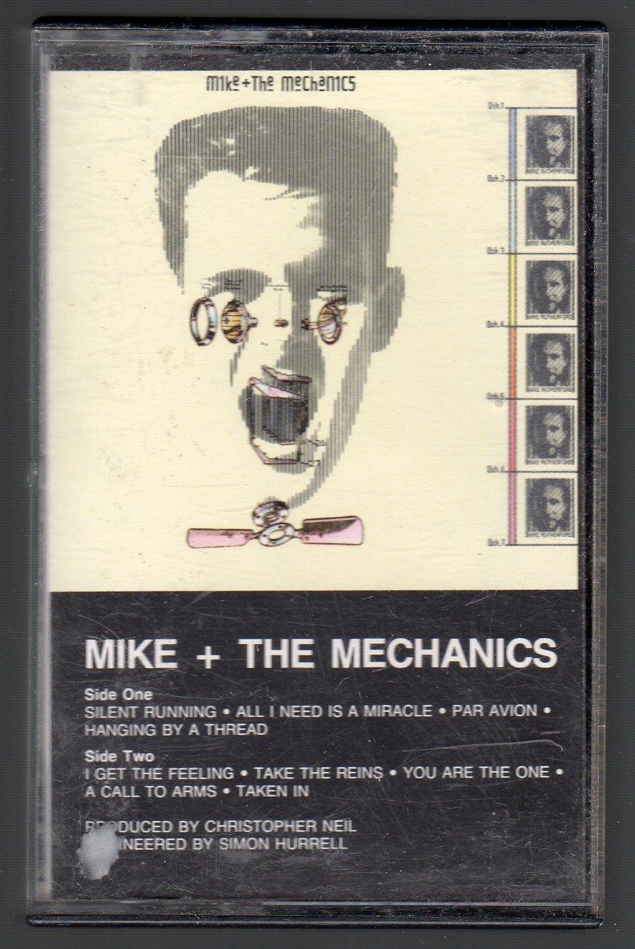 Mike + The Mechanics - Mike + The Mechanics Cassette Tape