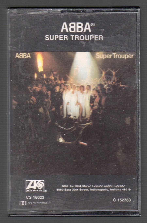 ABBA - Super Trouper 1980 Cassette Tape
