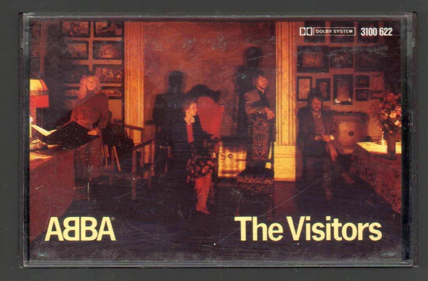 ABBA - The Visitors 1981 ( Germany ) Cassette Tape