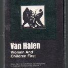 Van Halen - Women And Children First Cassette Tape
