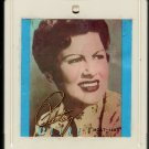 Patsy Cline - Today, Tomorrow And Forever 1985 CRC 8-track tape