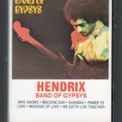 Jimi Hendrix - Band Of Gypsys Cassette Tape