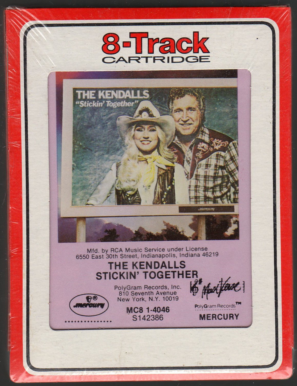 The Kendalls - Stickin' Together 1982 RCA Sealed 8-track tape