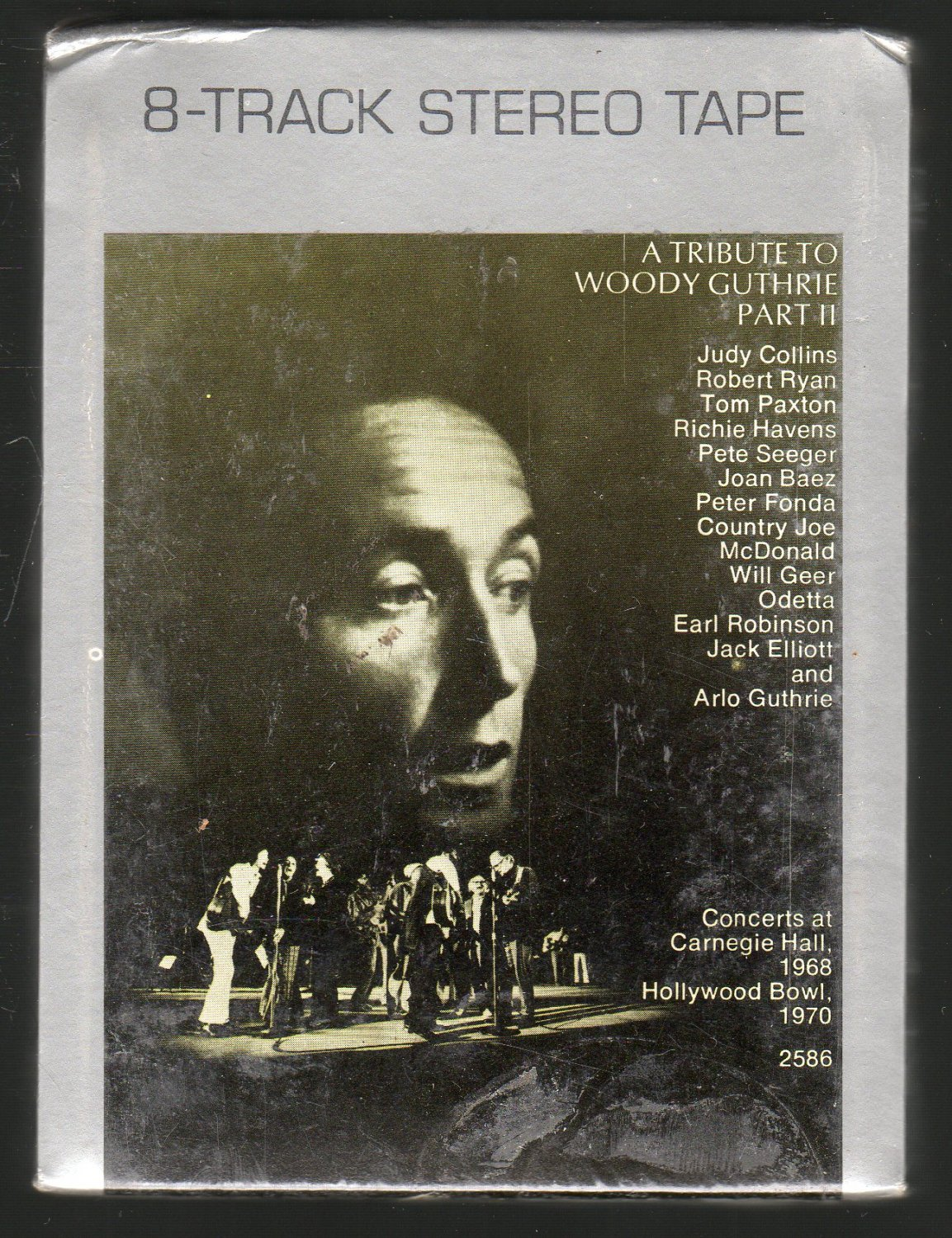 Woody Guthrie - A Tribute To Woody Guthrie Various Part II Sealed 8-track tape