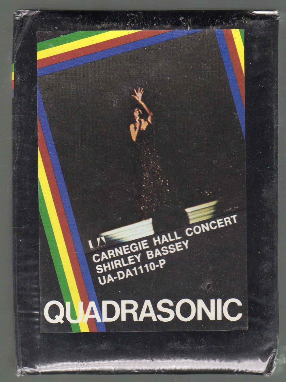 Shirley Bassey - Carnegie Hall Concert Vol I & II Quadraphonic Sealed 8-track tape