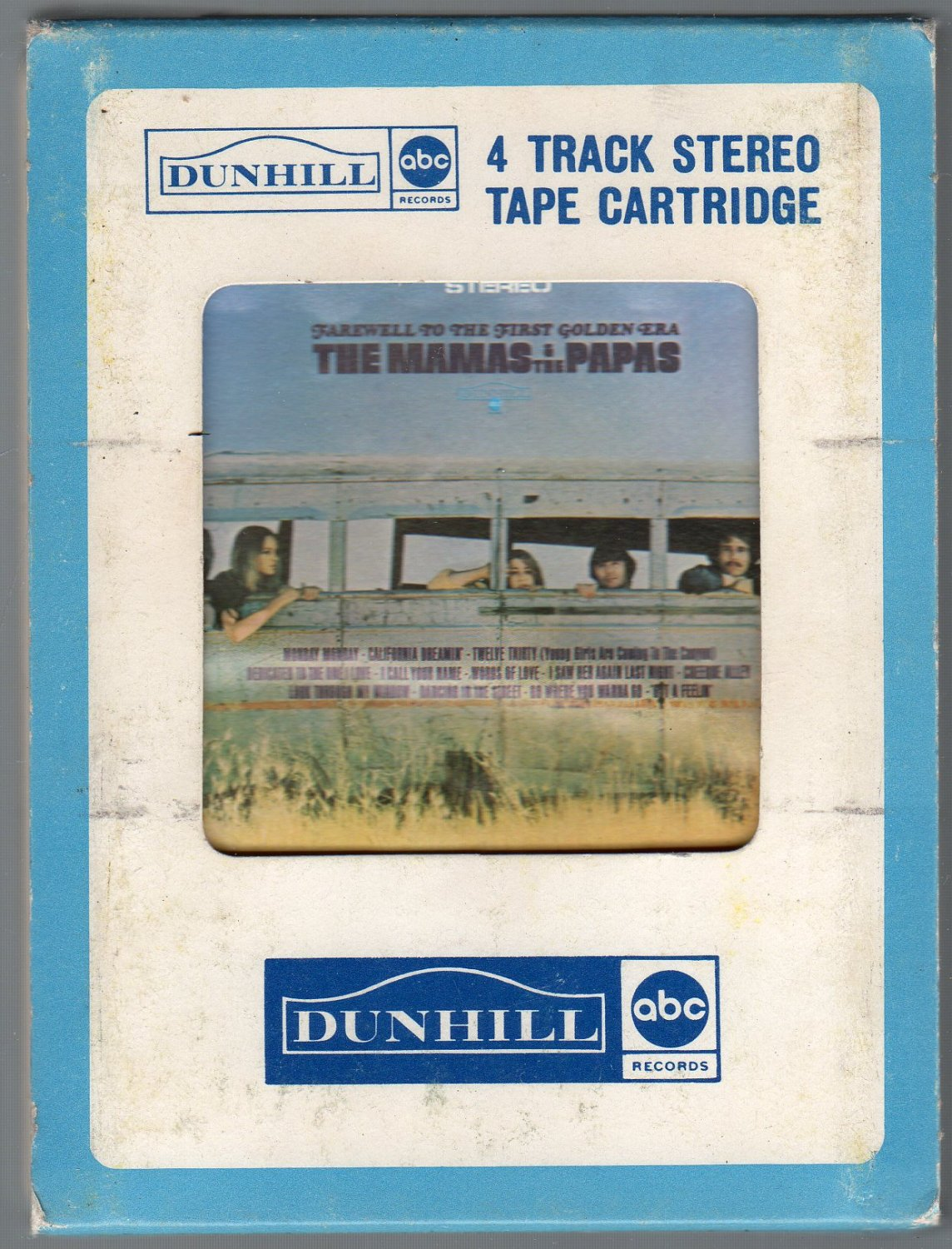 The Mamas & The Papas - Farewell to The First Golden Era 1967 Dunhill A27 4-track tape