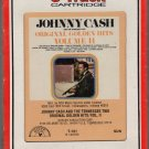 Johnny Cash And The Tennesssee Two - Original Golden Hits Vol II RCA Sealed 8-track tape