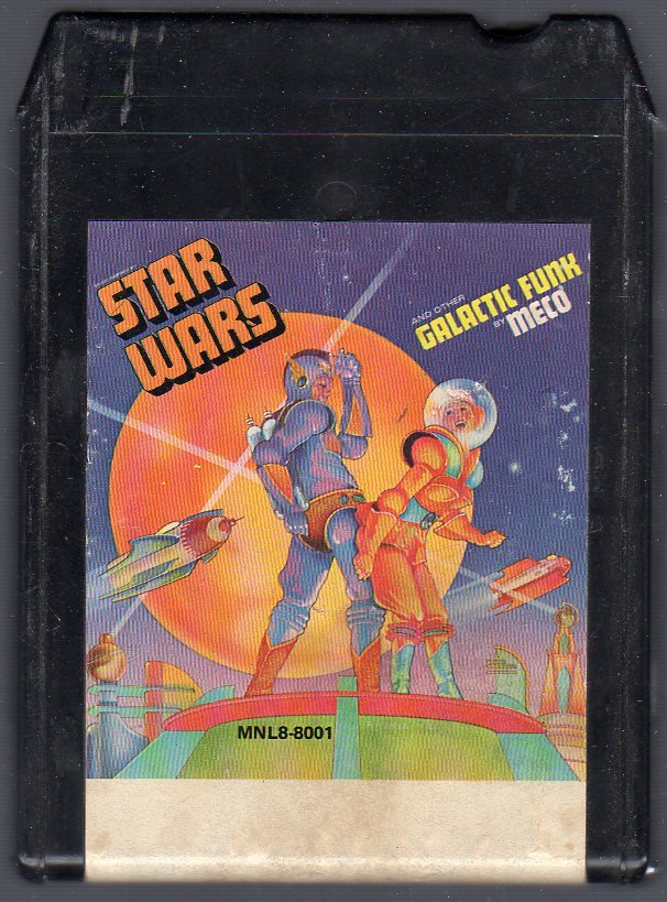Meco - Star Wars and other Galactic Funk CRC 8-track tape