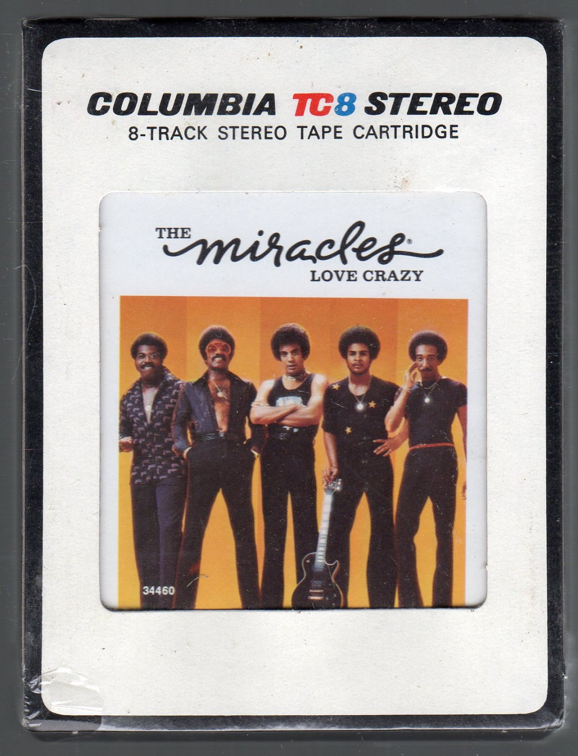 The Miracles - Love Crazy Sealed 8-track tape