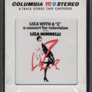 "Liza Minnelli - Liza With A ""Z"" Original Television Soundtrack Recording Sealed A46 8-track tape"