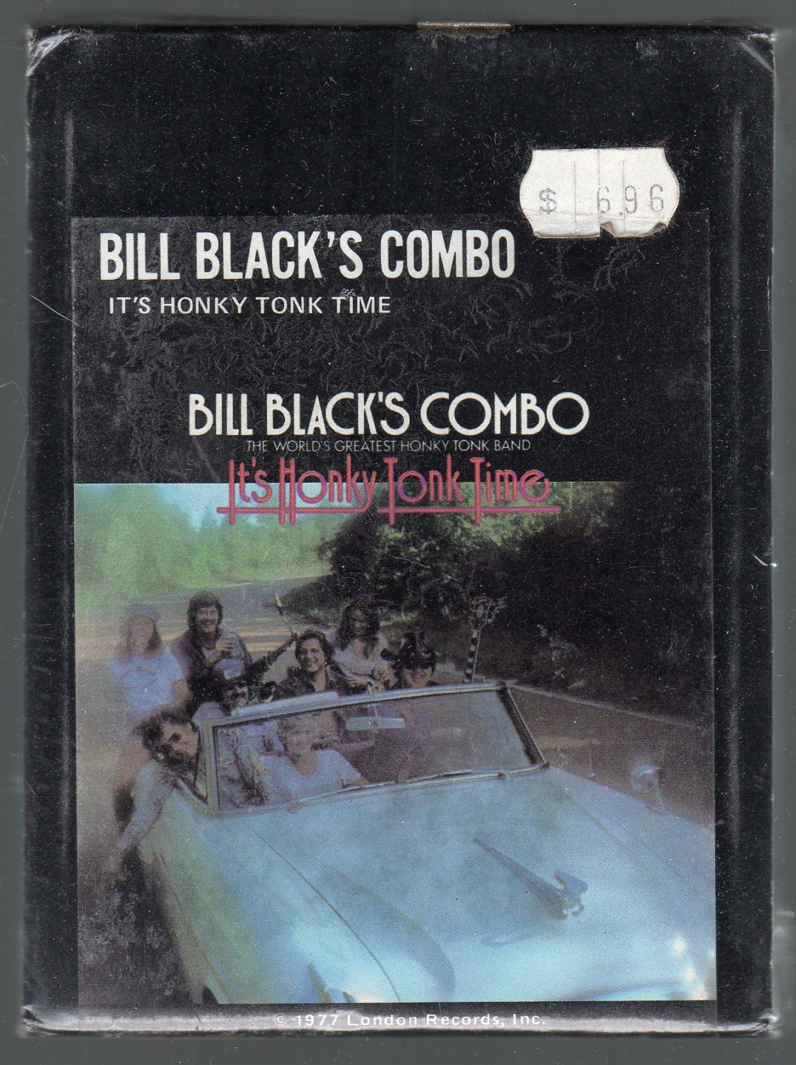 Bill Black's Combo - It's Honky Tonk Time Sealed 8-track tape