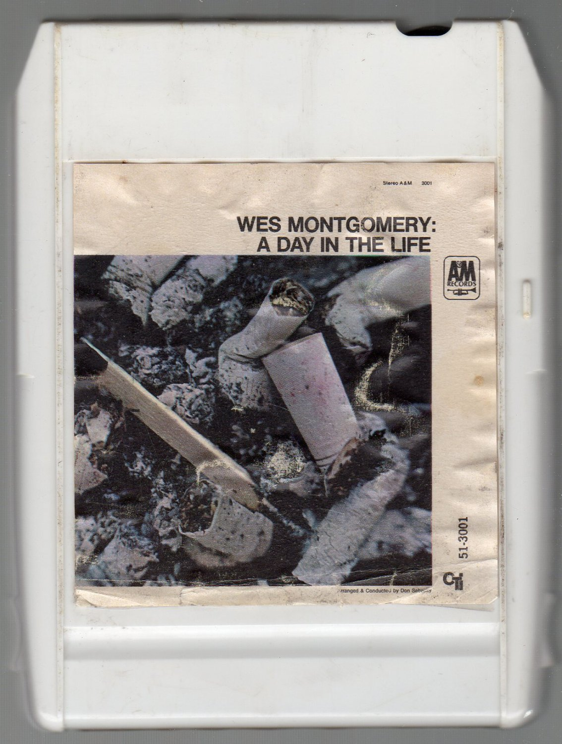 Wes Montgomery - A Day In The Life 1967 8-track tape