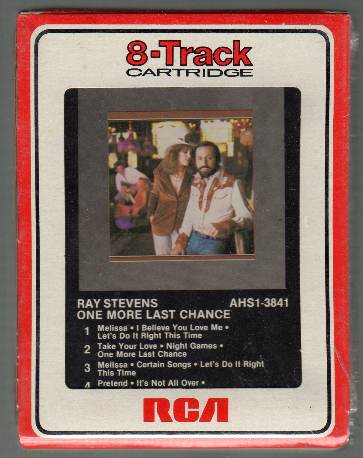 Ray Stevens - One More Last Chance RCA Sealed 8-track tape
