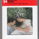 First Time Love - A Treasury Of 60's Love Songs Various Part 3 & 4 Sealed 8-track tape