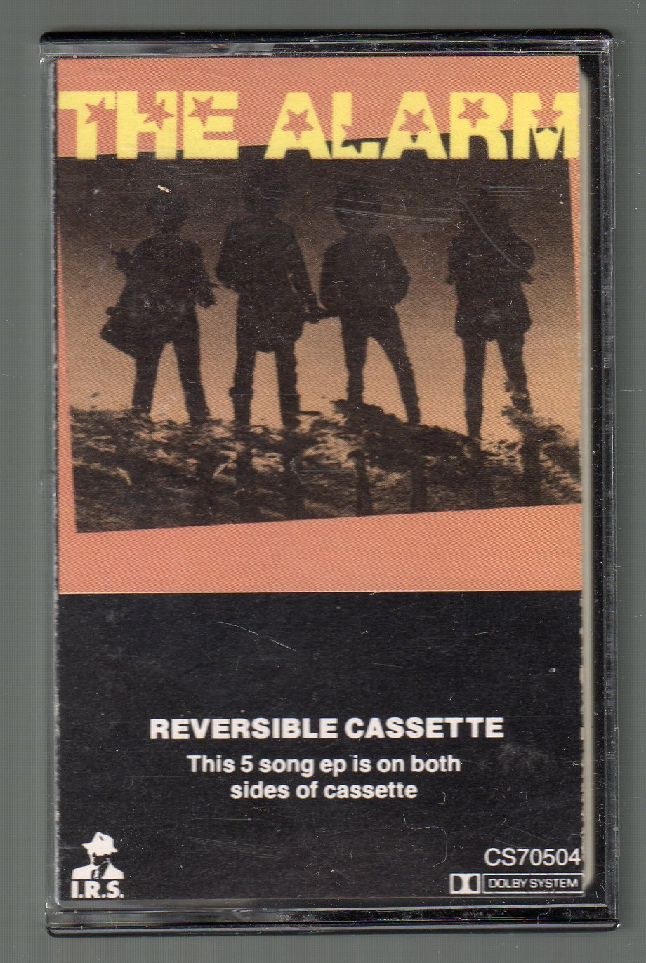 The Alarm - 5 Song EP 1983 Cassette Tape