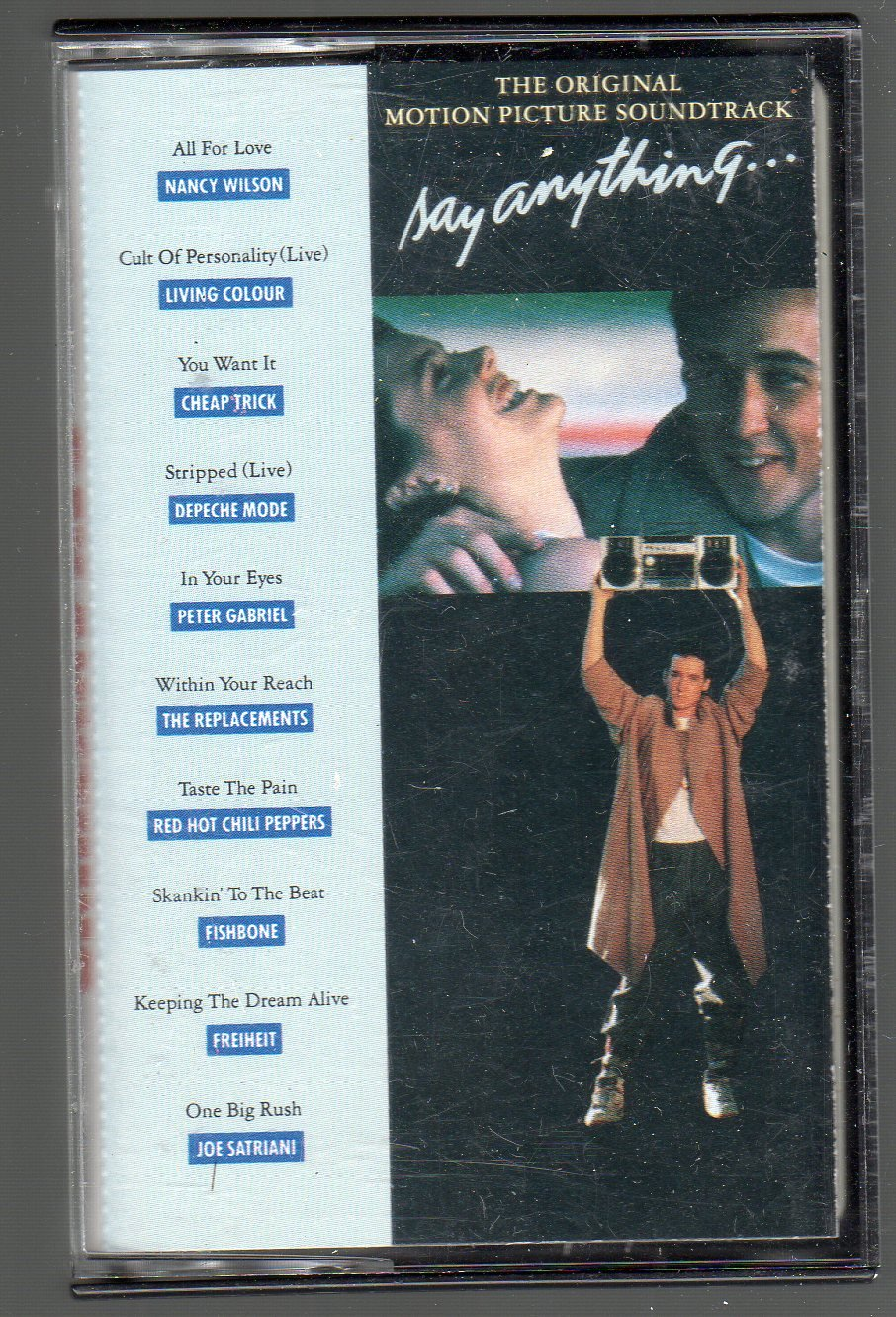 Say Anything - Original Motion Picture Soundtrack SOLD Cassette Tape