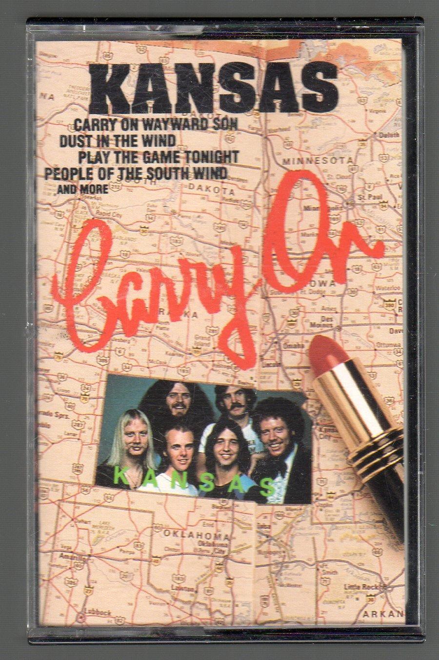 Kansas - Carry On SOLD Cassette Tape