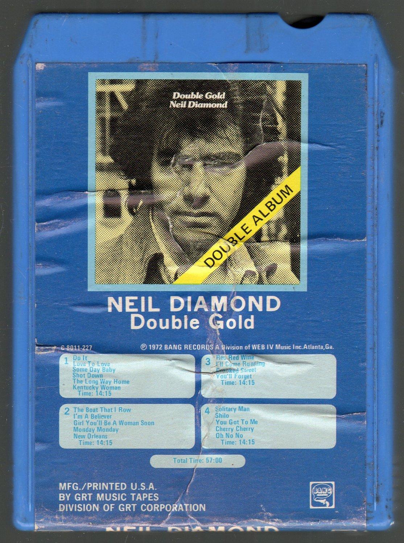 Neil Diamond - Double Gold 8-track tape