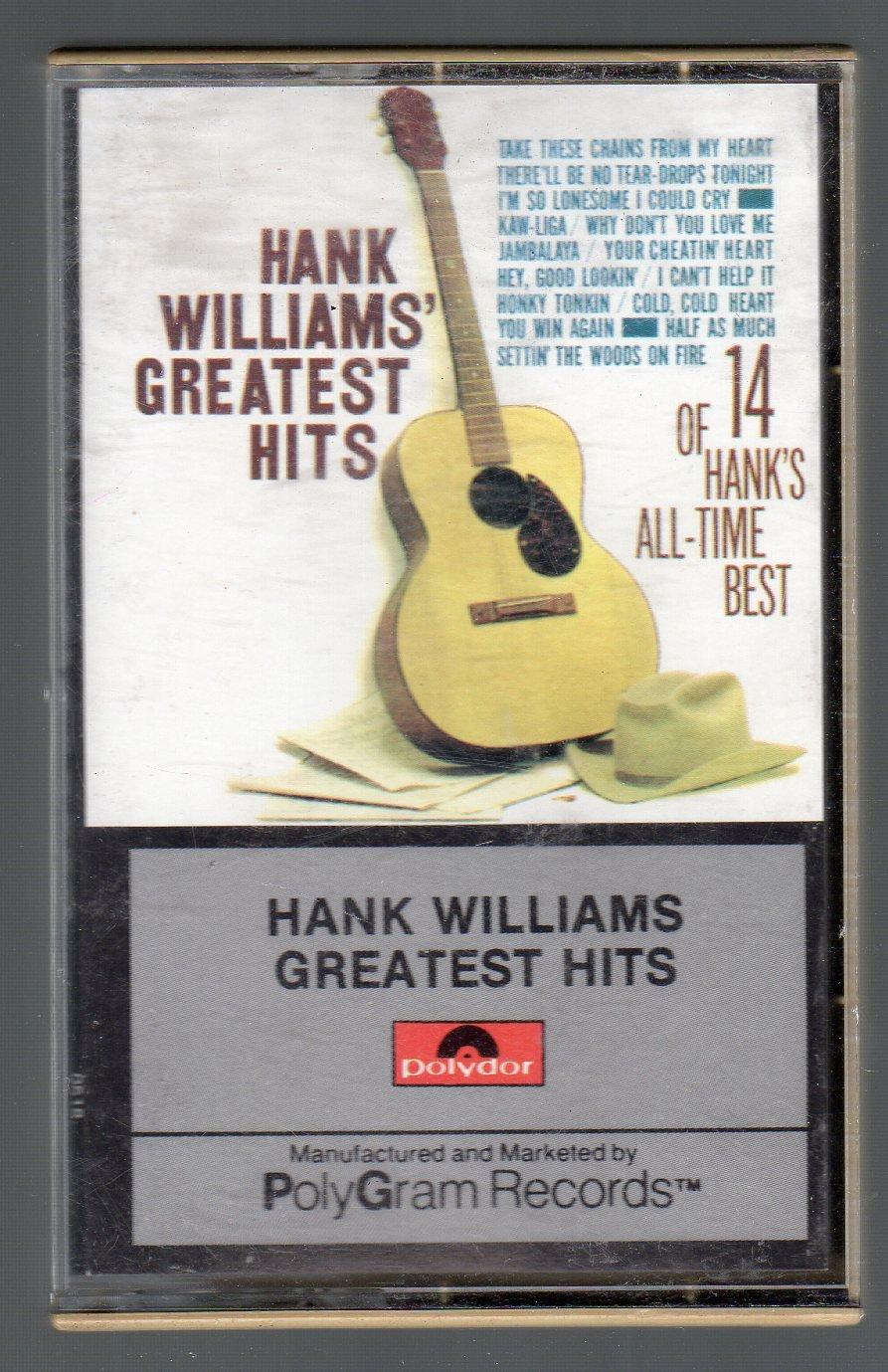 Hank Williams Sr - Greatest Hits Cassette Tape