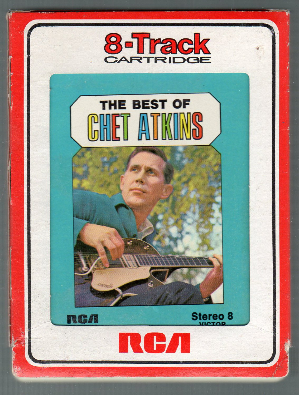 Chet Atkins - The Best Of RCA 8-track tape