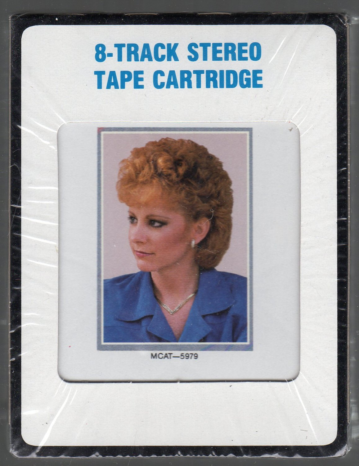 Reba McEntire - Greatest Hits CRC 1987 SOLD Sealed 8-track tape
