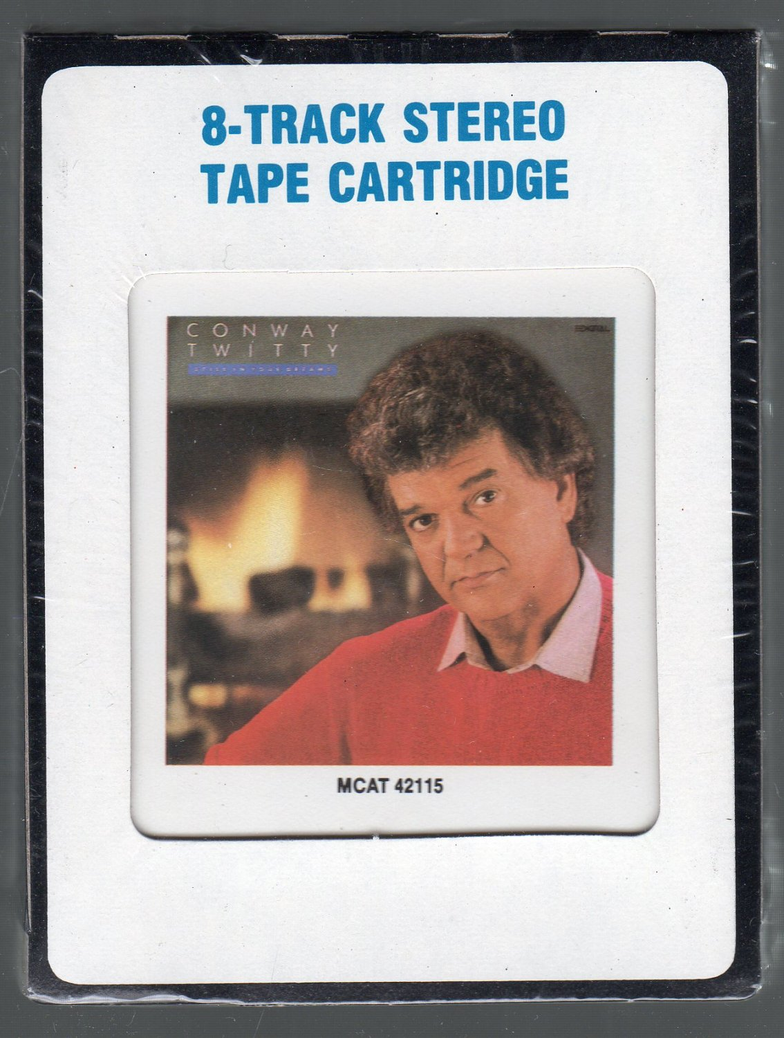 Conway Twitty - Still In Your Dreams 1988 MCA Sealed 8-track tape