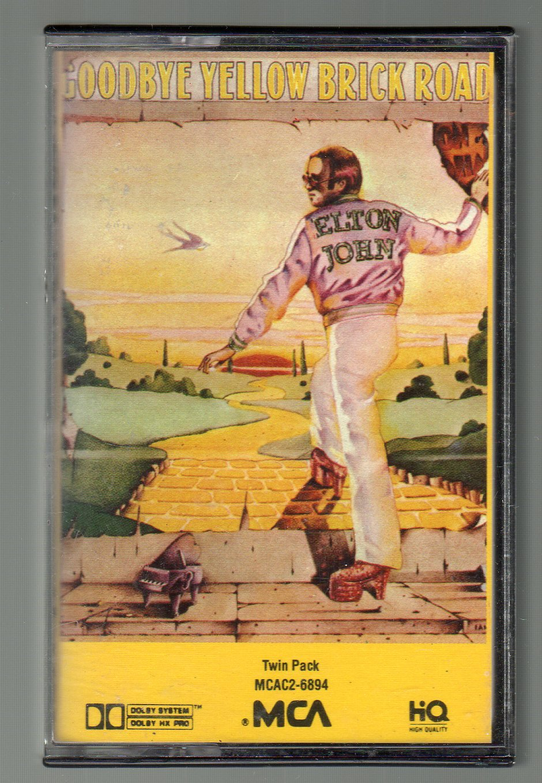 Elton John - Goodbye Yellow Brick Road Cassette Tape