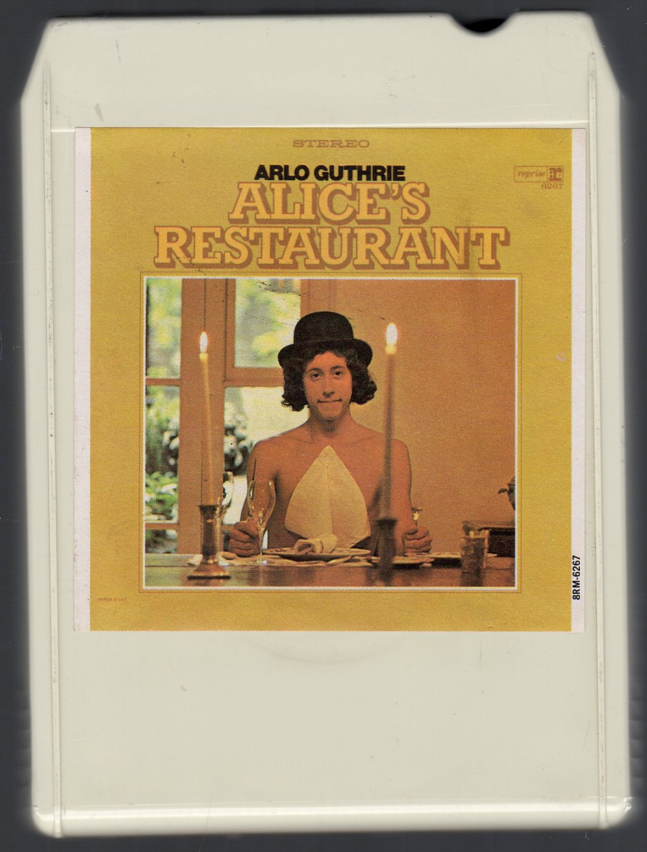 Arlo Guthrie - Alice's Restaurant 1967 REPRISE Ampex 8-track tape