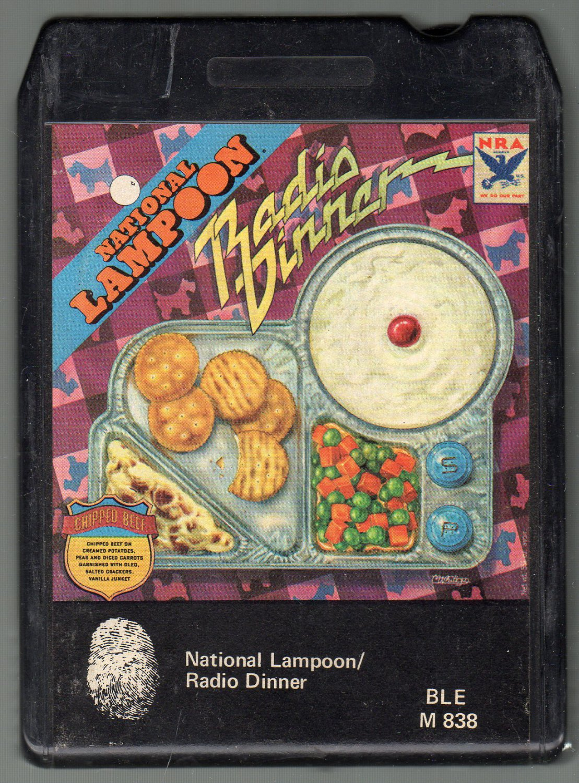 National Lampoon - Radio Dinner 8-track tape