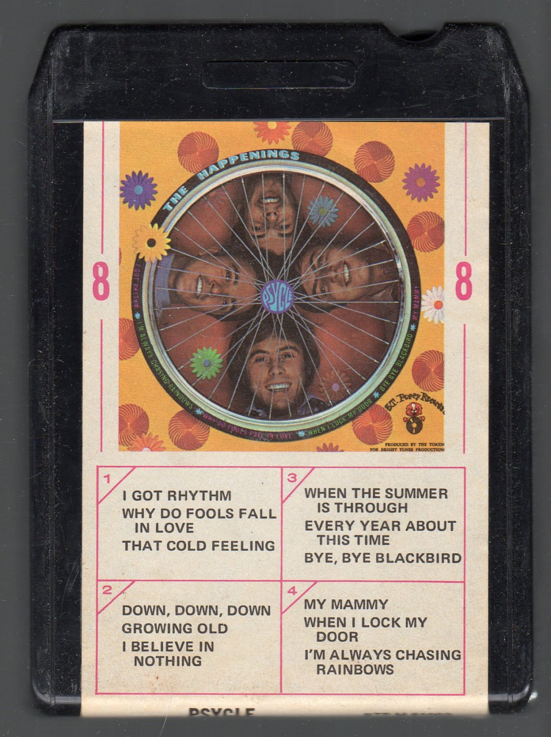The Happenings - Psycle 1967 Ampex SOLD 8-track tape
