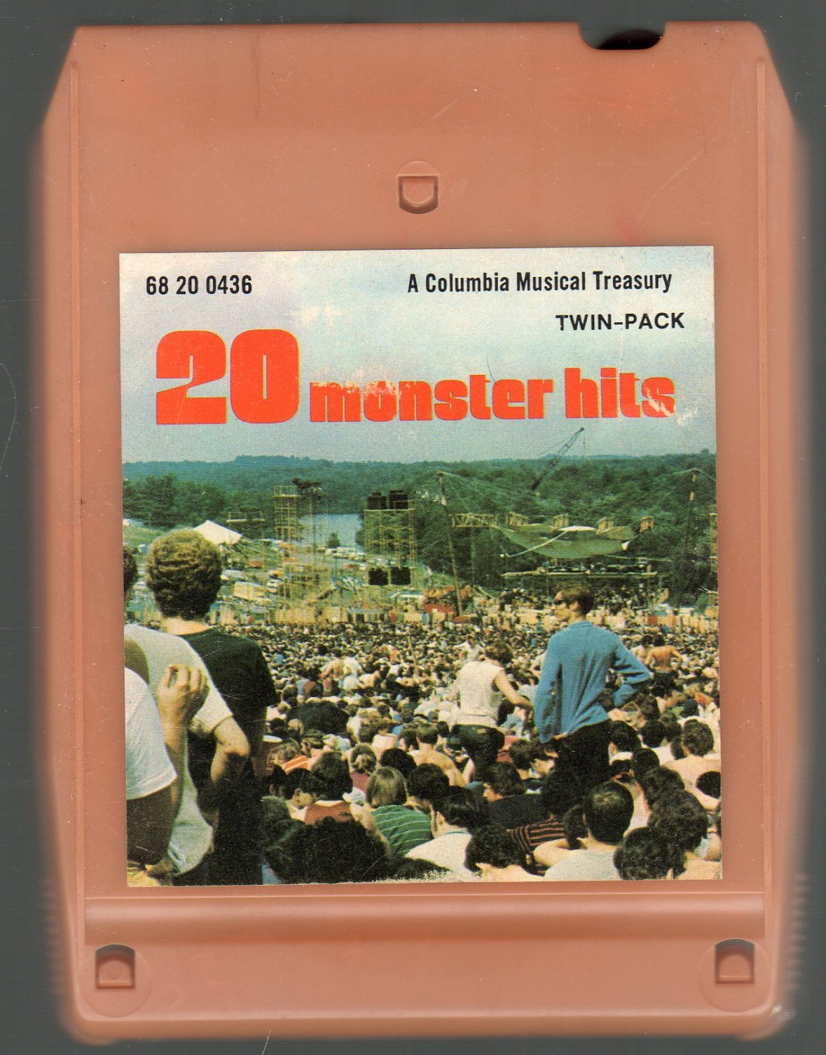 20 Monster Hits - Various Rock SOLD 8-track tape