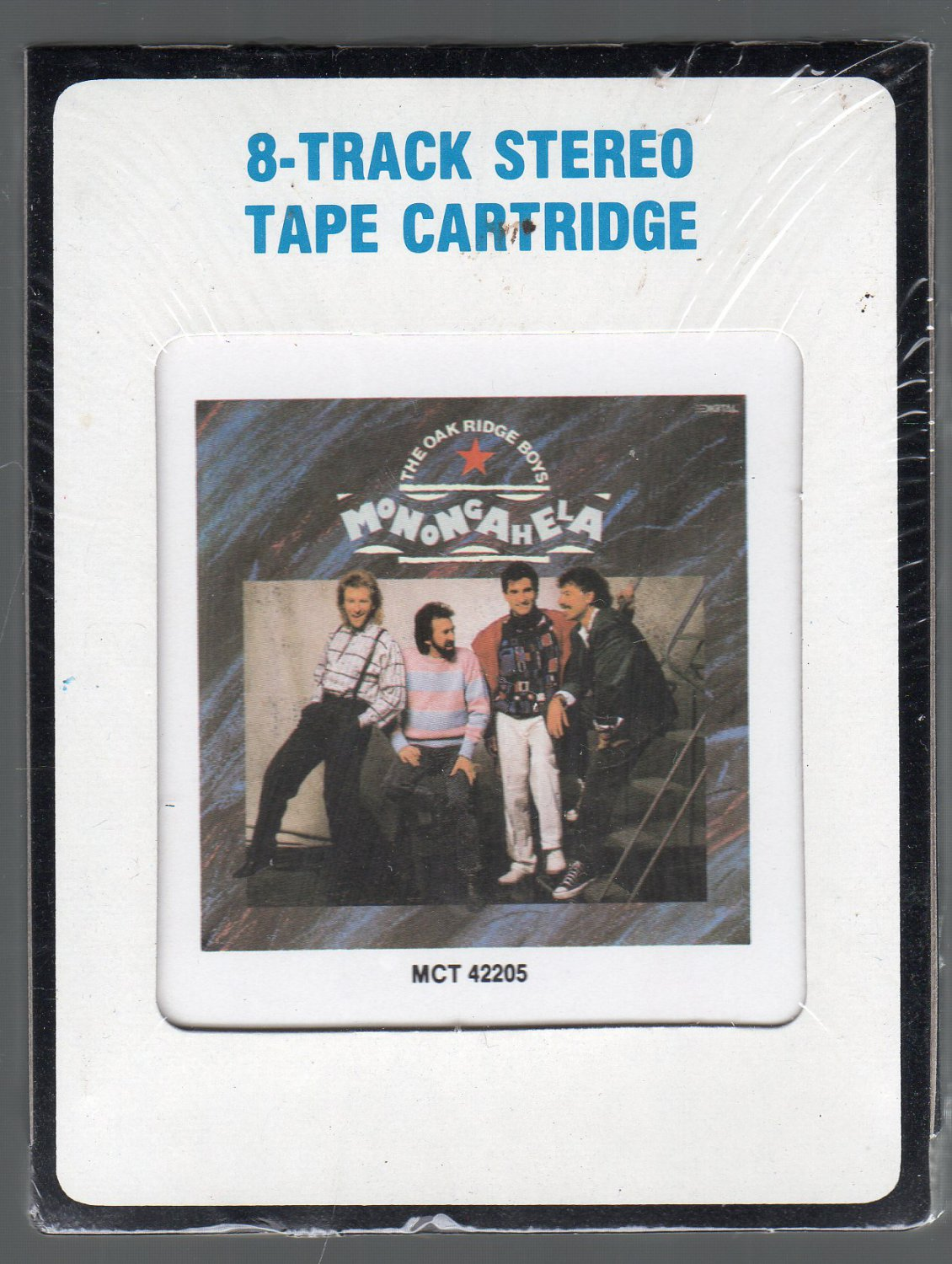 The Oak Ridge Boys - Monongahela 1988 CRC Sealed 8-track tape