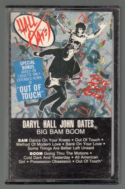 Daryl Hall & John Oates - Big Bam Boom SOLD Cassette Tape