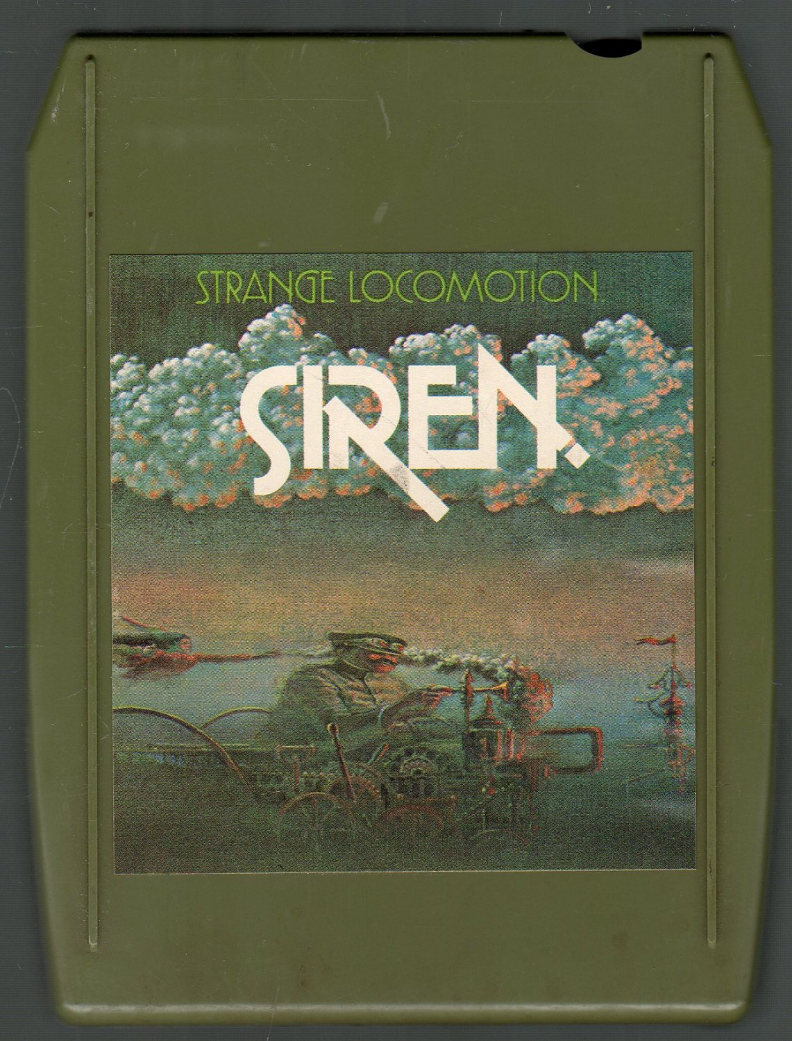 Siren - Strange Locomotion 8-track tape