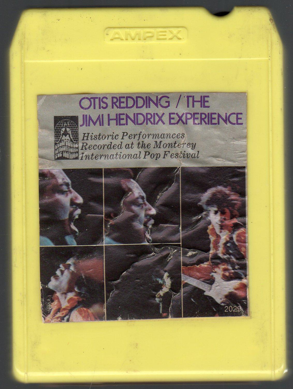 Otis Redding / Jimi Hendrix Experience - 1967 SOLD Monterey Pop Festival REPRISE 8-track tape
