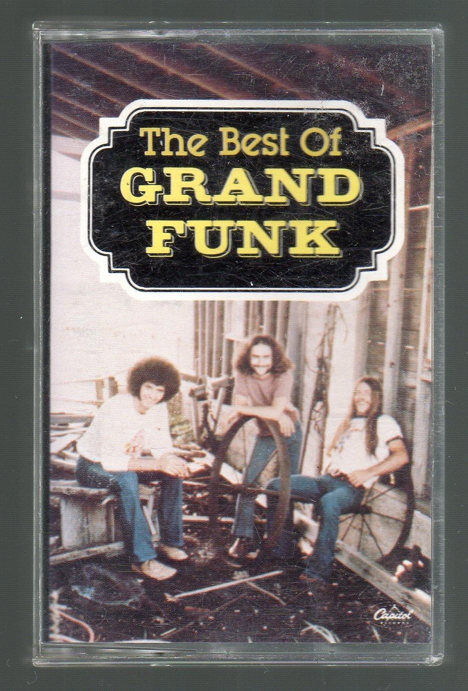 Grand Funk Railroad - The Best Of Grand Funk Cassette Tape