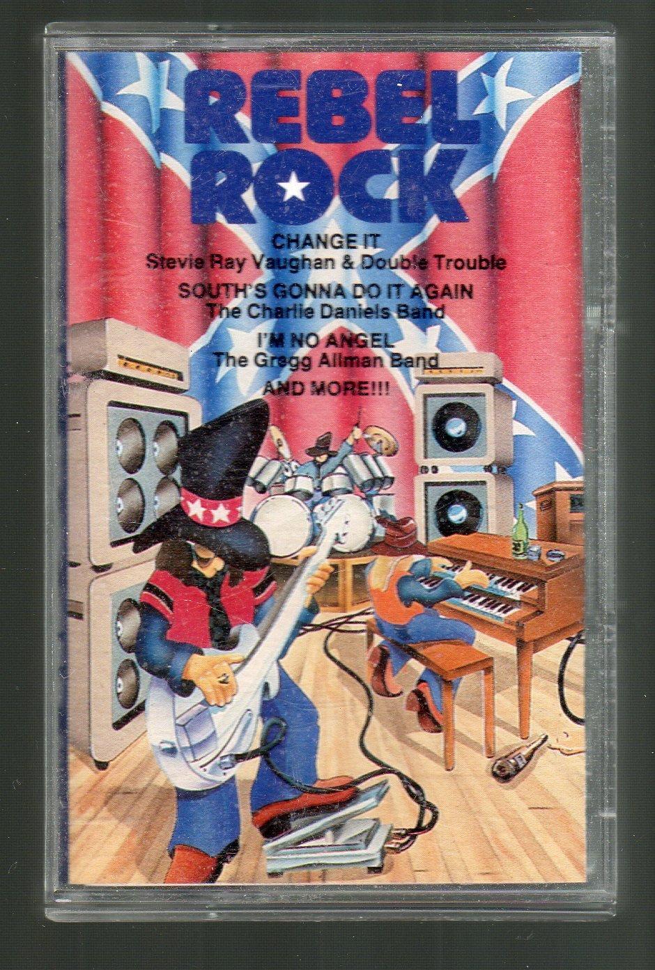 Rebel Rock - Various Rock Cassette Tape