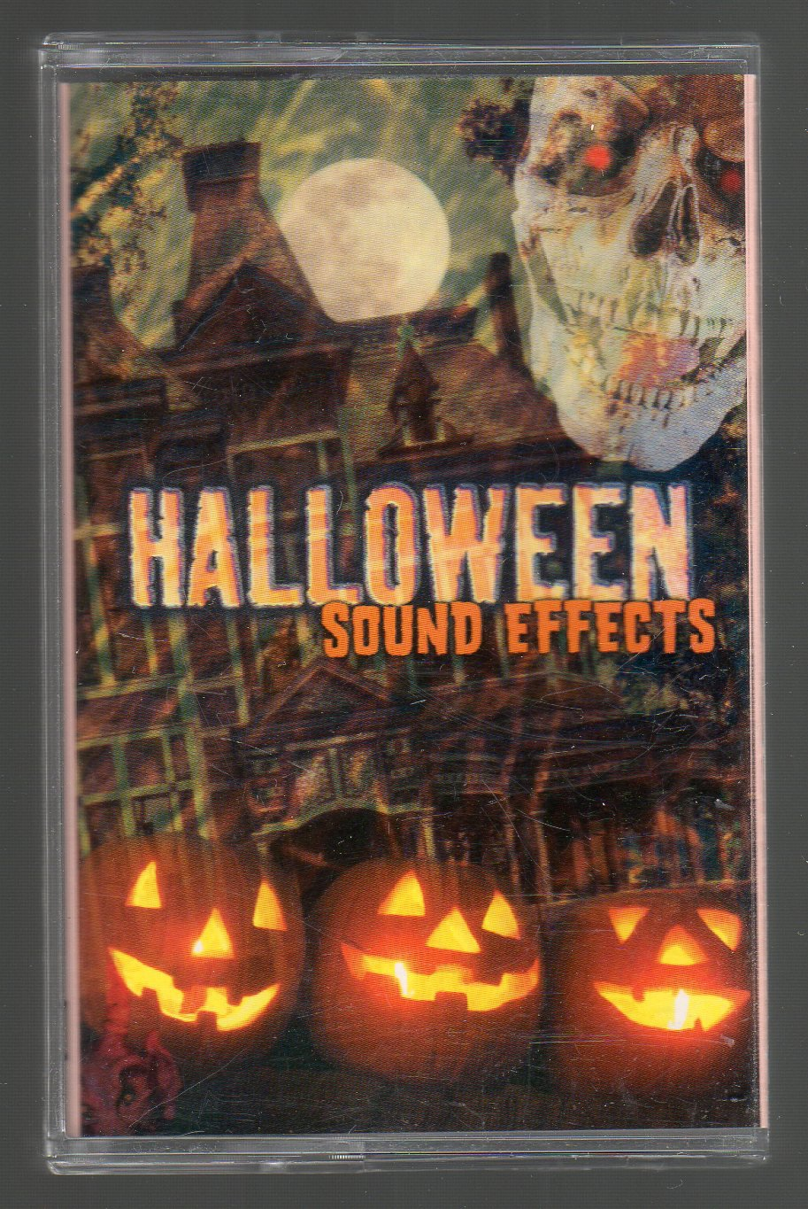 Halloween Sound Effects - Various Eerie Noise Cassette Tape