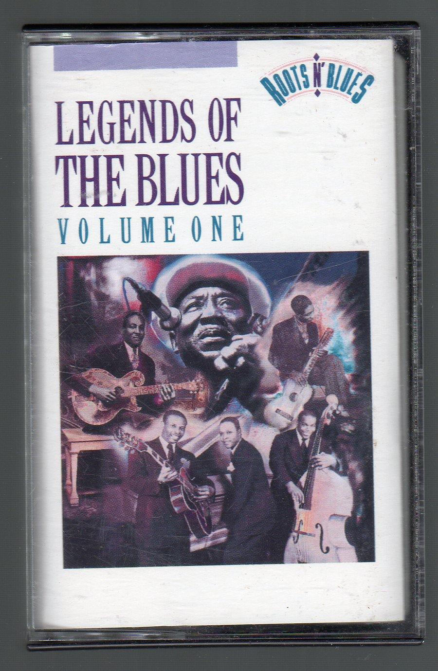 Legends Of The Blues Vol 1 - Various Blues Cassette Tape