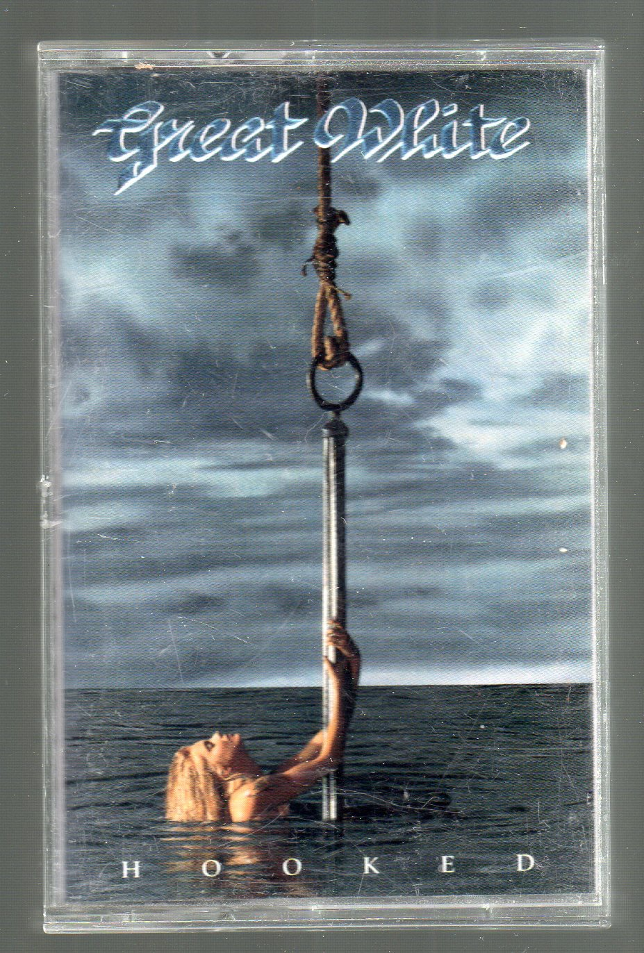 Great White - Hooked Cassette Tape