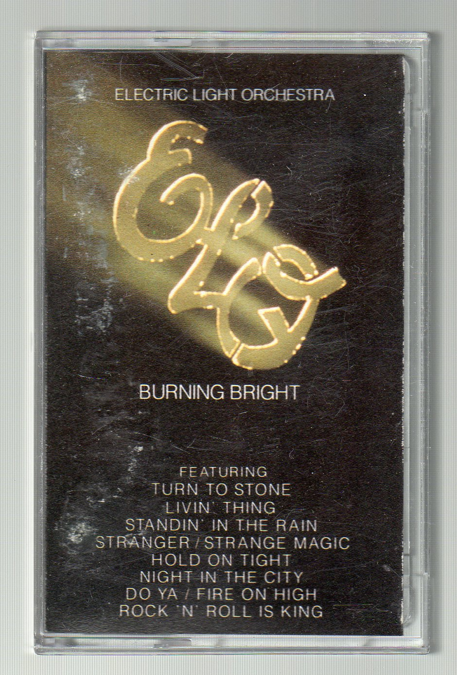 Electric Light Orchestra - Burning Bright SOLD Cassette Tape