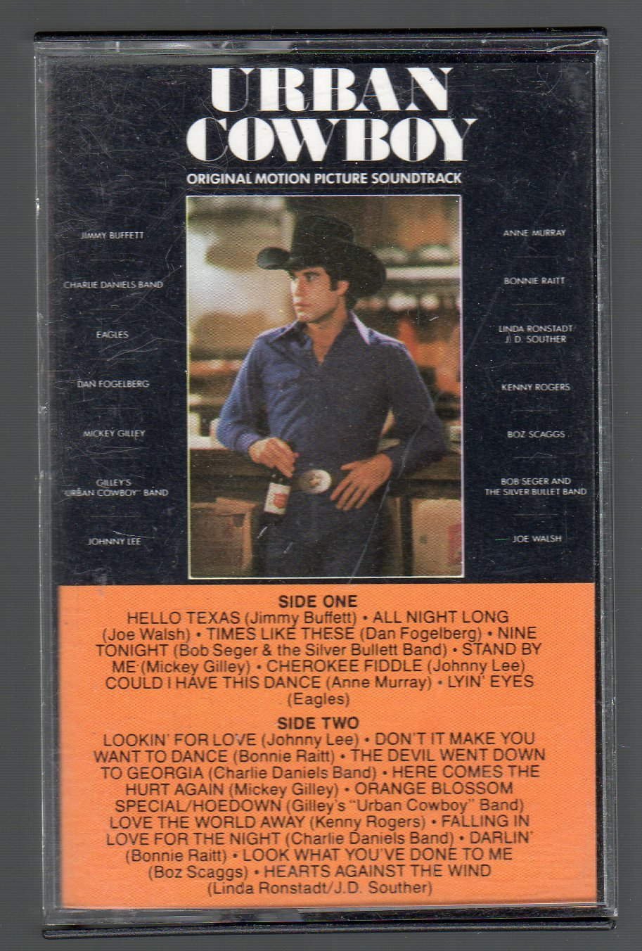Urban Cowboy - Motion Picture Soundtrack SOLD Cassette Tape
