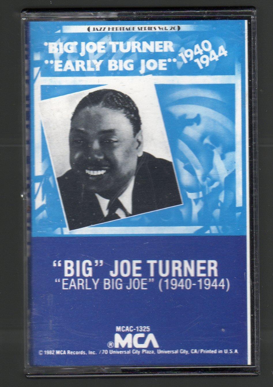 Big Joe Turner - Early Big Joe 1940-1944 RARE Cassette Tape