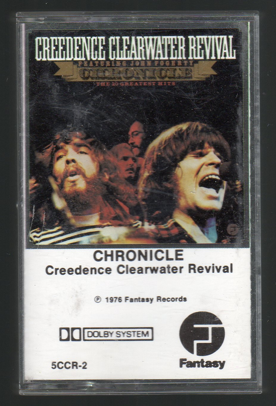 Creedence Clearwater Revival - Chronicle SOLD Cassette Tape